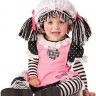 Raggedy Ann Baby Doll Infant Costume  Size: Medium #10029