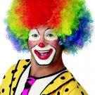 #60087 Ronald McDonald Jumbo Curly Circus Clown Adult Costume Wig