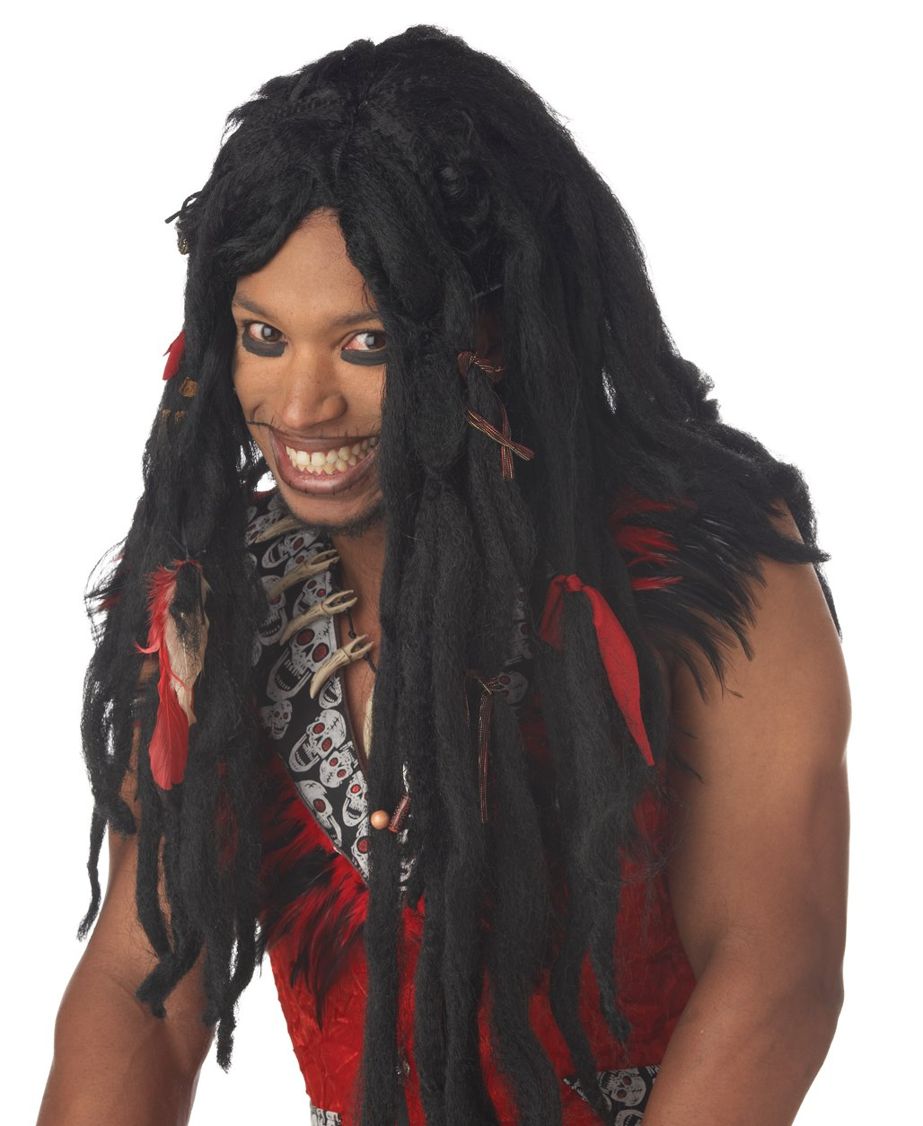 Voodoo Dreadlock Adult Costume Wig #70502