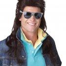 80's Rock Mullet Adult Costume Wig #70620