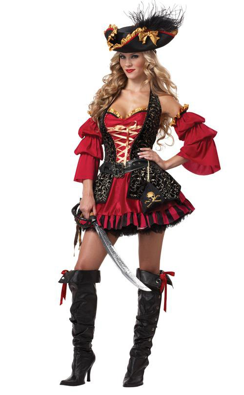 Spanish Pirate Adult Costume Size: X-Small #01196