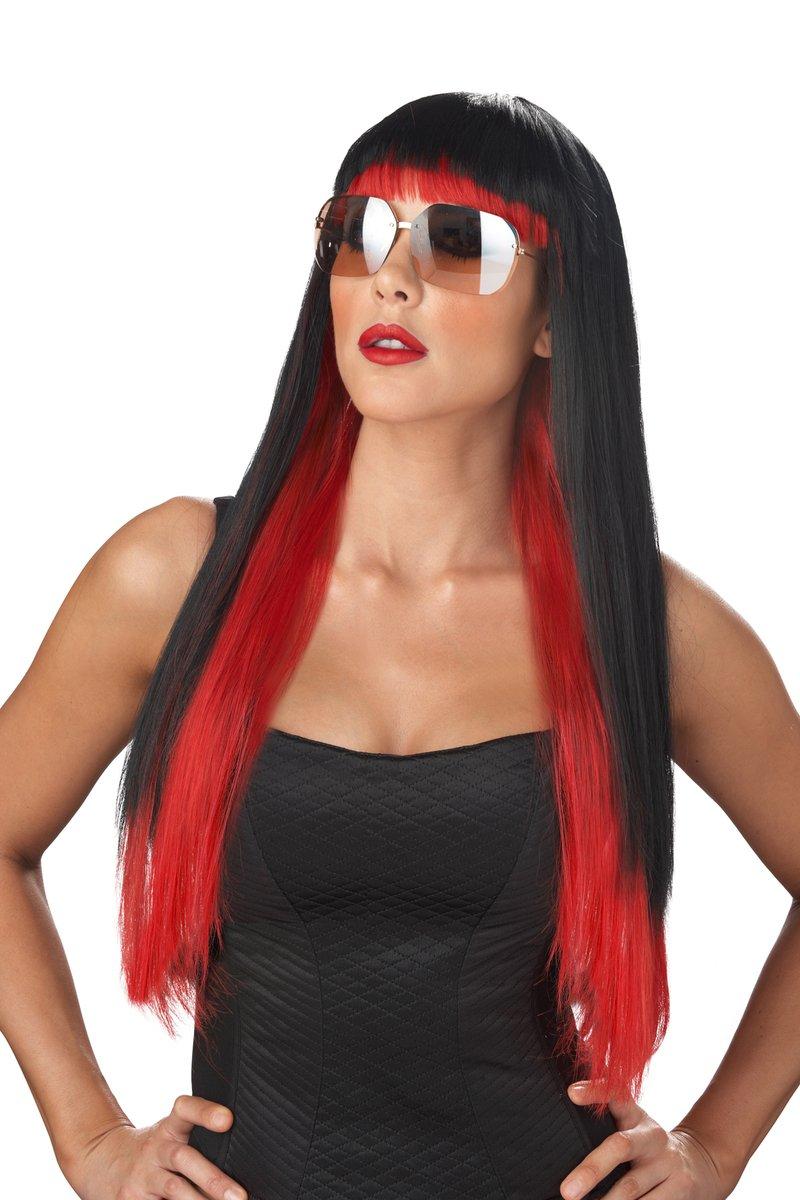 Diva Glam Rock Star Adult Costume Wig #70689