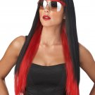Diva Glam Rock Star Adult Costume Wig #70689