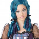 #70719 Doll Curls Monster High Child Costume Wig