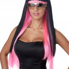 Diva Glam Rock Star Adult Costume Wig #70734