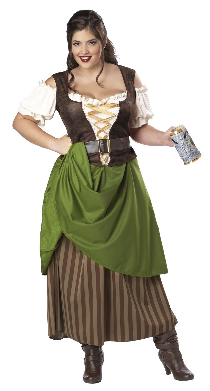 Tavern Maiden Renaissance Adult Plus Size Costume: 1X-Large #01704