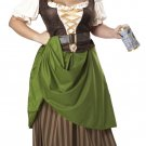 Tavern Maiden Renaissance Adult Plus Size Costume: 1X-Large #01704