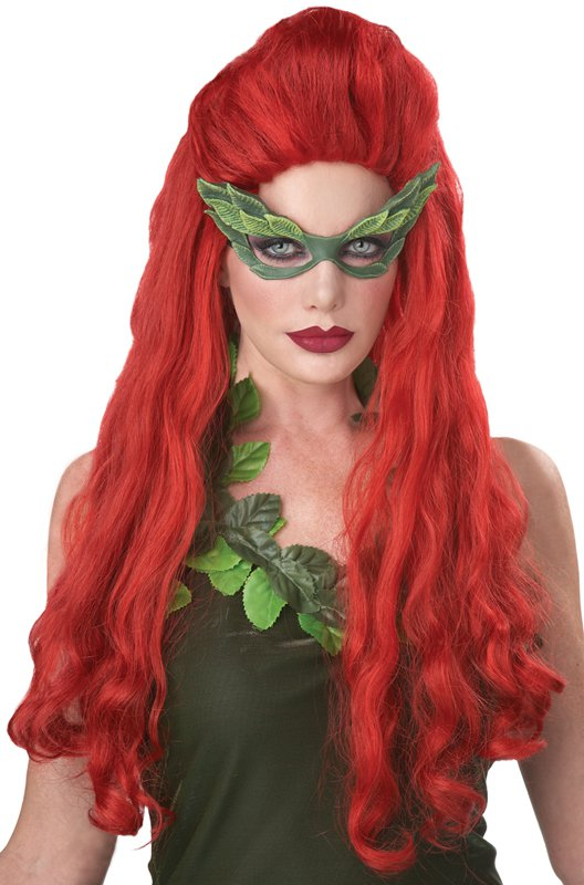 Batman Lethal Beauty Poison Ivy Adult Costume Wig - Red  #70746