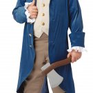USA President Colonial George Washington / Thomas Jefferson Child Costume Size: Medium #00429
