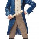 George Washington / Thomas Jefferson Colonial Child Costume Size: X-Large #00429