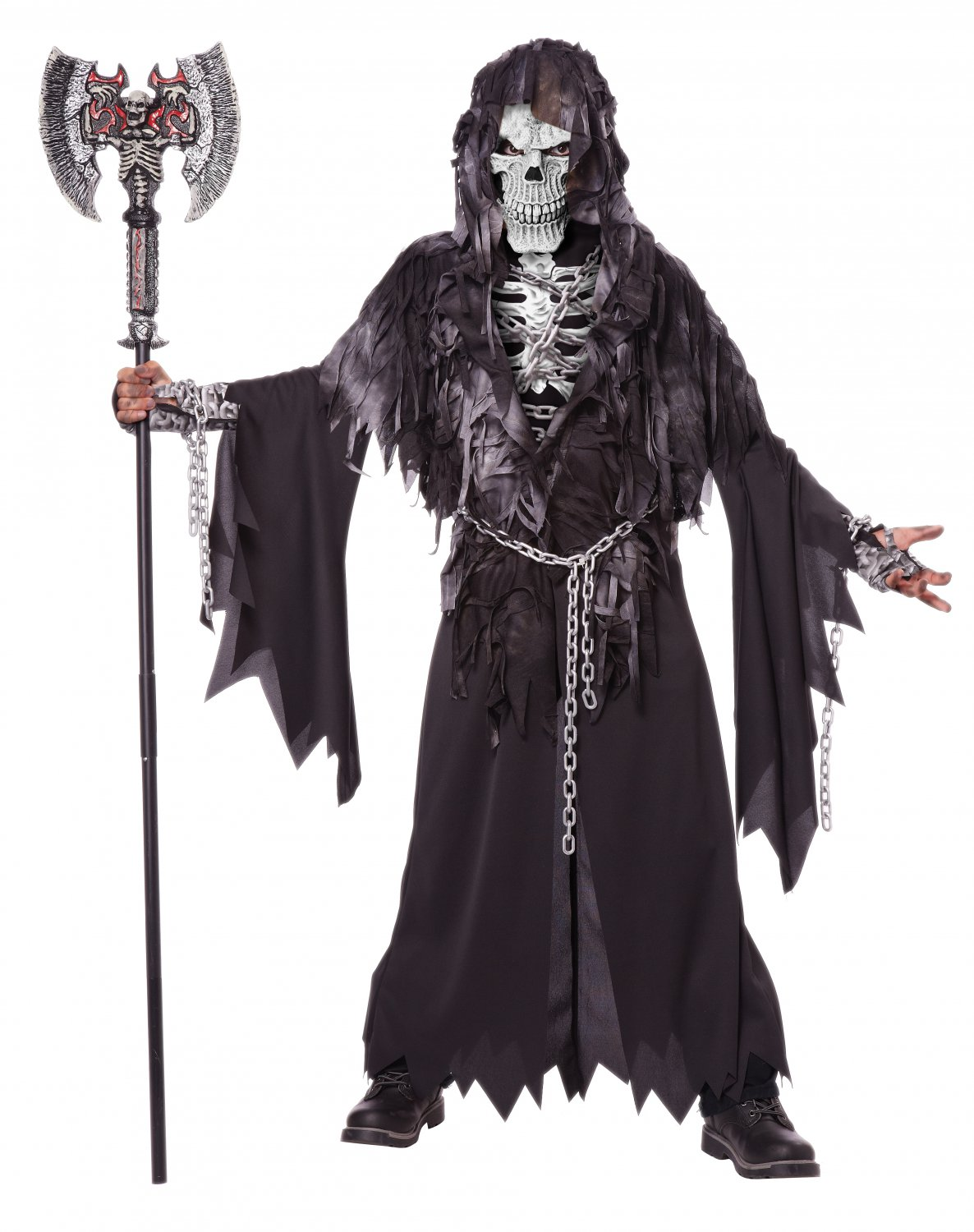 Soul Taker Skeleton Evil Unchained Child Costume Size: Large #00463