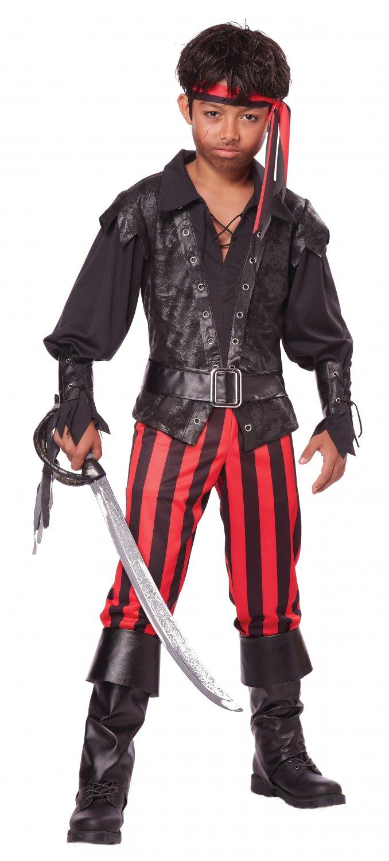 Size: Medium #00455 Briny Buccaneer Pirate Child Costume