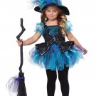 Size: Large #00148 Sparkling Darling Little Witch Toddler Costume