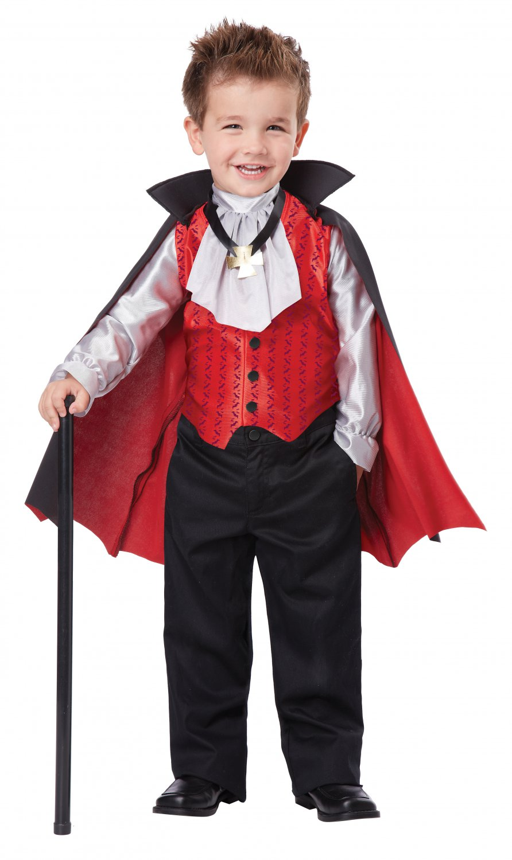 Dapper Vampire Dracula Toddler Costume Size: Medium #00162