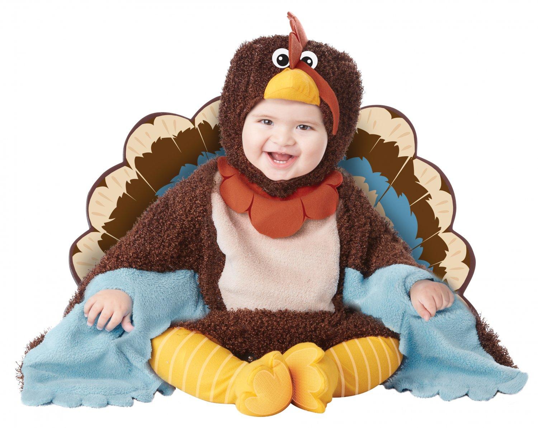 Turkey Gobble Gobble Thanksgiving Infant Costume Size: Medium #10033