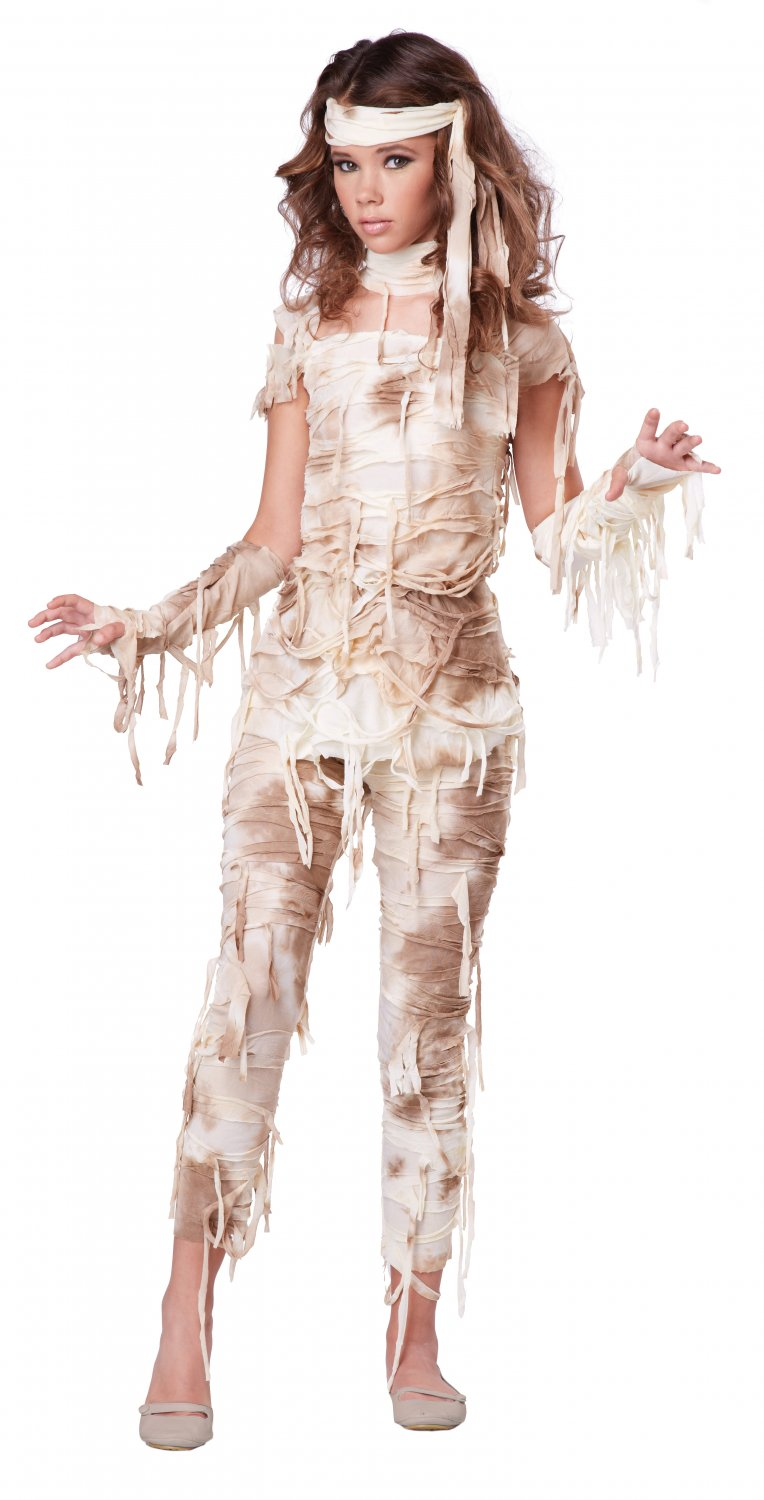 Mysterious Mummy Egyptian Queen Tween Costume Size: X-Large #04083