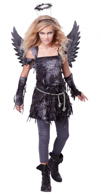 Dark Gothic Demon Spooky Angel Tween Costume Size: X-Large #04080