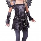 Spooky Angel Dark Gothic Demon Tween Costume Size: Large #04080