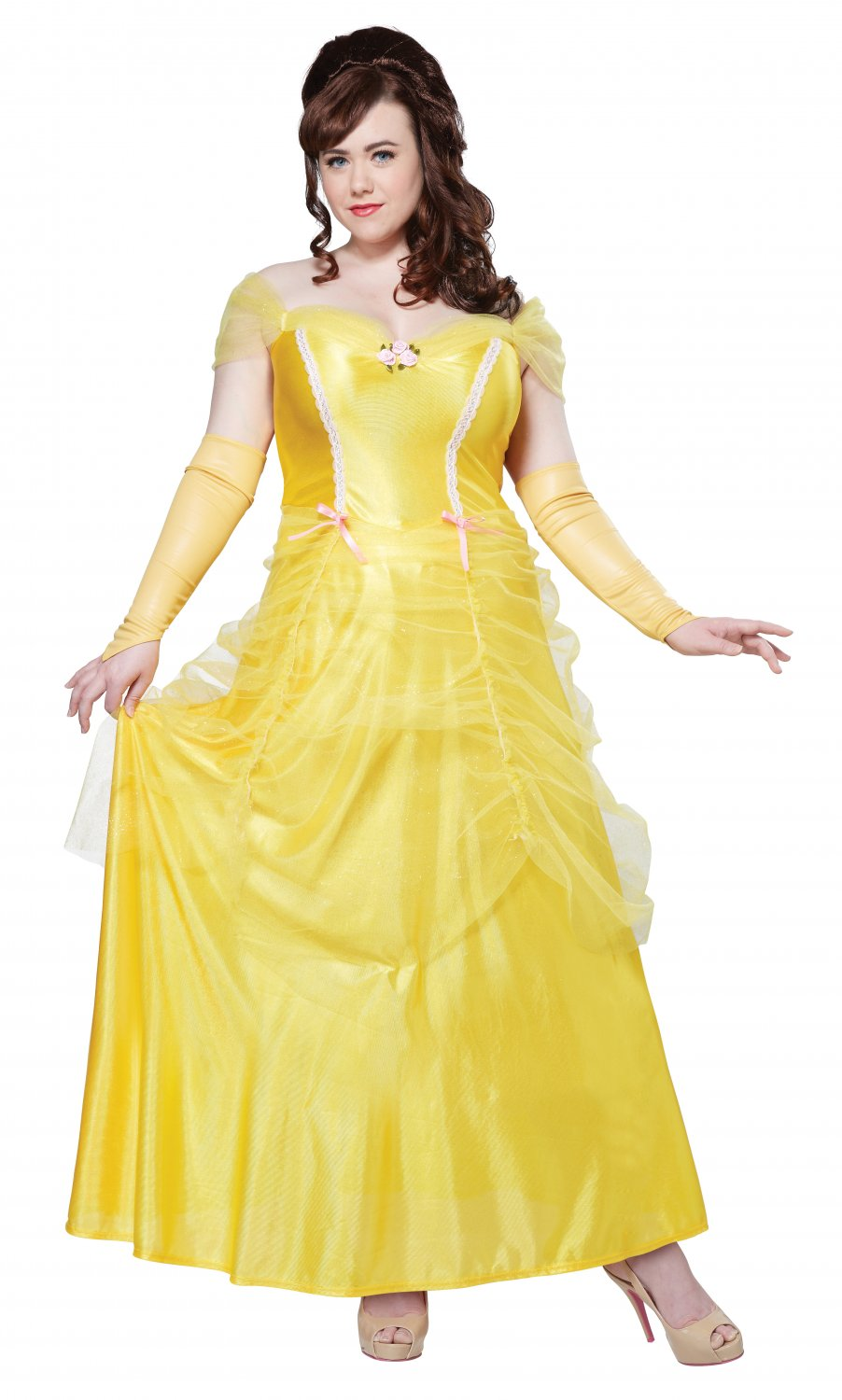 Classic Beauty & The Beast Belle Plus Size Adult Costume: 3X-Large #01745