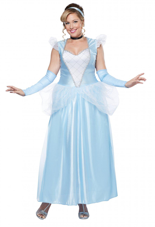 Classic Cinderella Plus Size Adult Costume: 1X-Large #01744