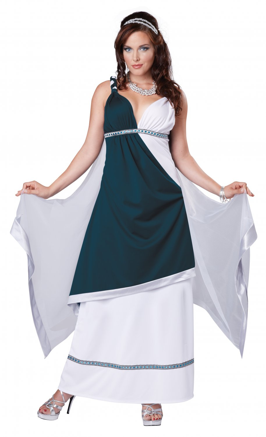 300 Greek Roman Beauty Toga Adult Costume Size: X-Small #01361
