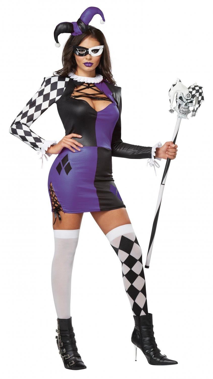 Naughty Jester Renaissance Adult Costume Size: Medium #01340