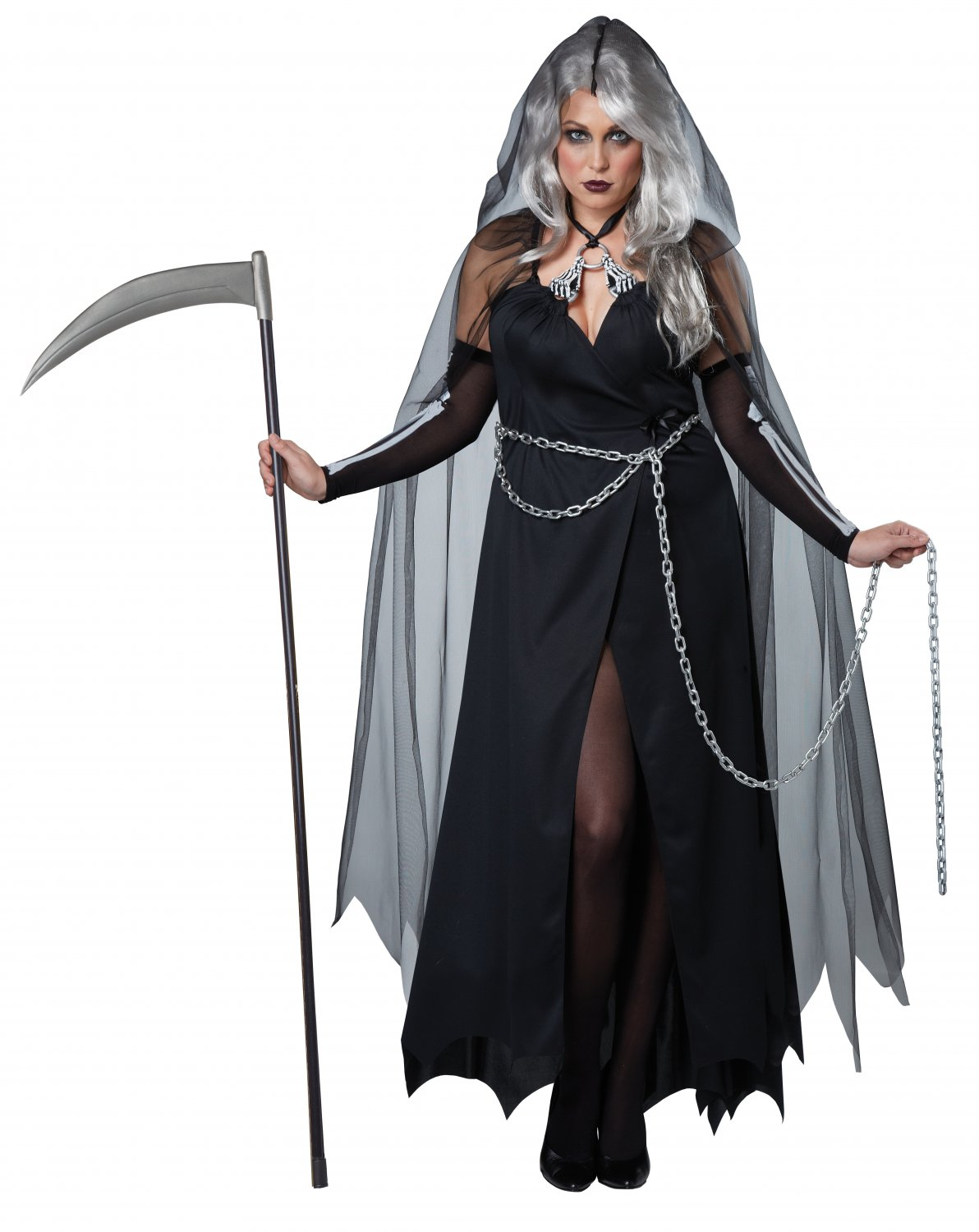 Lady Reaper Plus Size Adult Costume: 1X-Large #01732