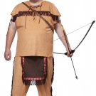 Chief Indian Native American Brave Plus Size Adult Costume #01728