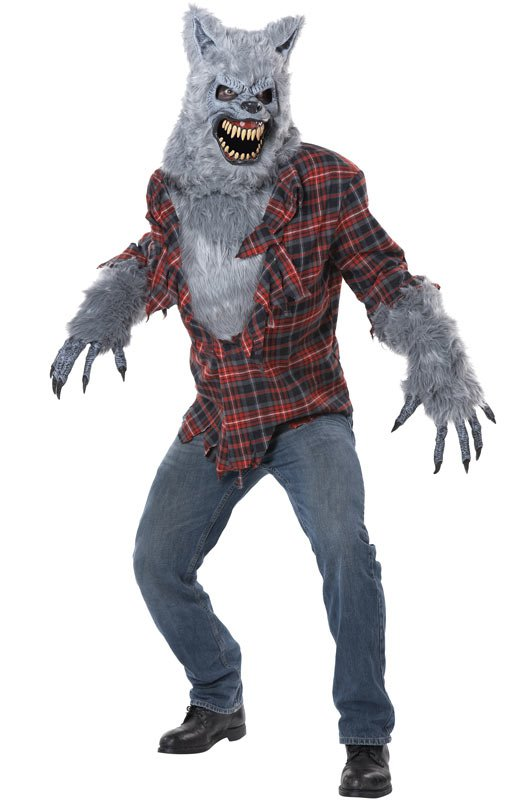 Gray Lycan Werewolf  Adult Costume Size: Small/Medium #01373