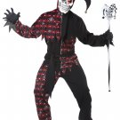Sinister Jester Clown Adult Costume Size: Medium #01372