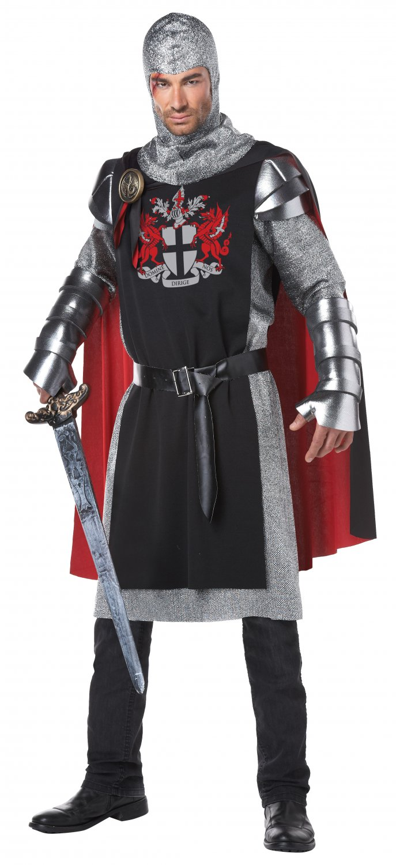 Valiant Medieval Knight Adult Costume Size: Small/Medium #01370