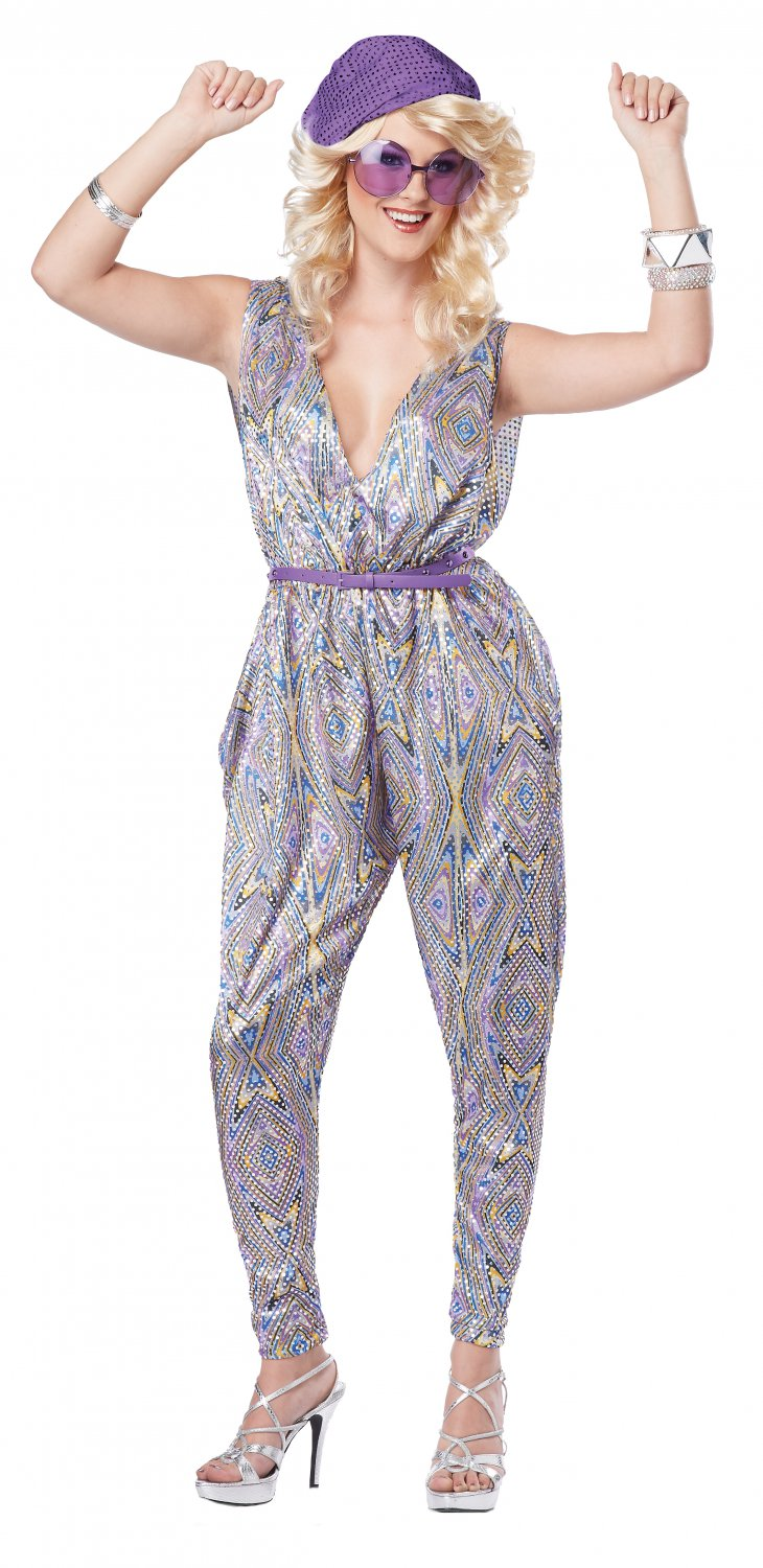 70's Disco Boogie Fever Adult Costume Size: X-Small #01368