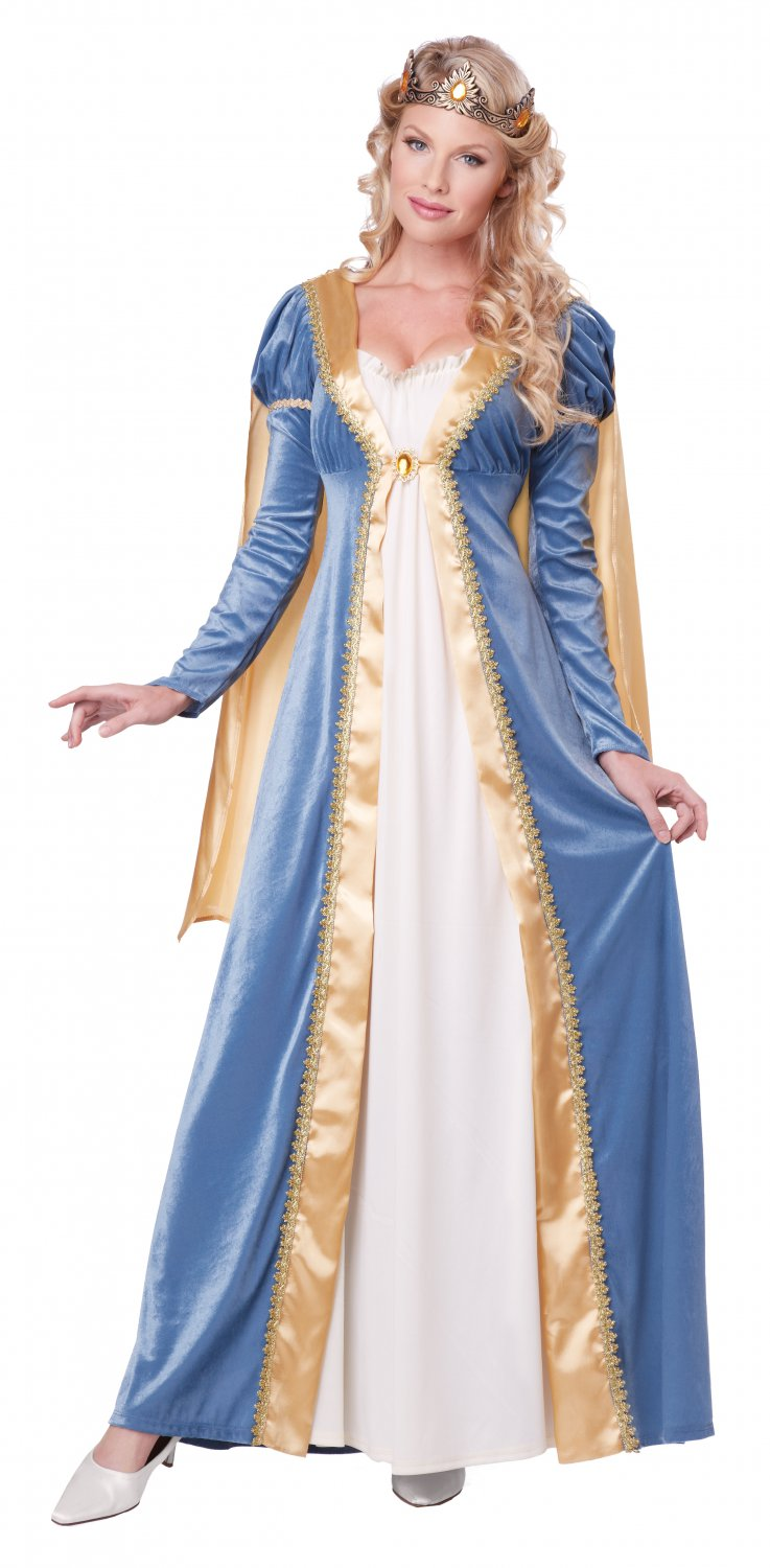 Medieval Times Renaissance Elegant Empress Adult Costume Size: X-Small #01365