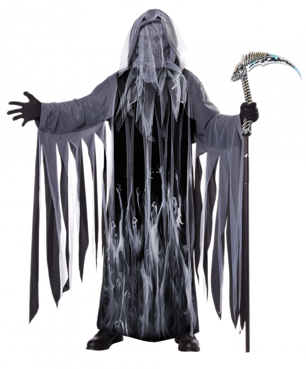 Grim Reaper Ghost of Christmas Soul Taker Adult Costume Size: Small/Medium #01356