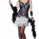 Razzle Dazzle Fashion Flapper Adult Costume Size: Small #01352