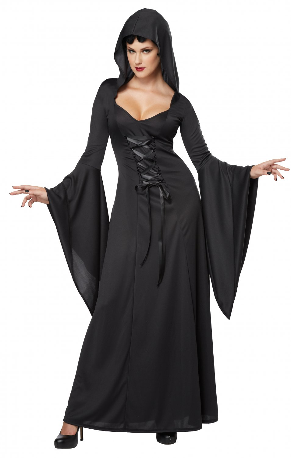 Deluxe Hooded Robe Adult Costume Size: X-Small #01338
