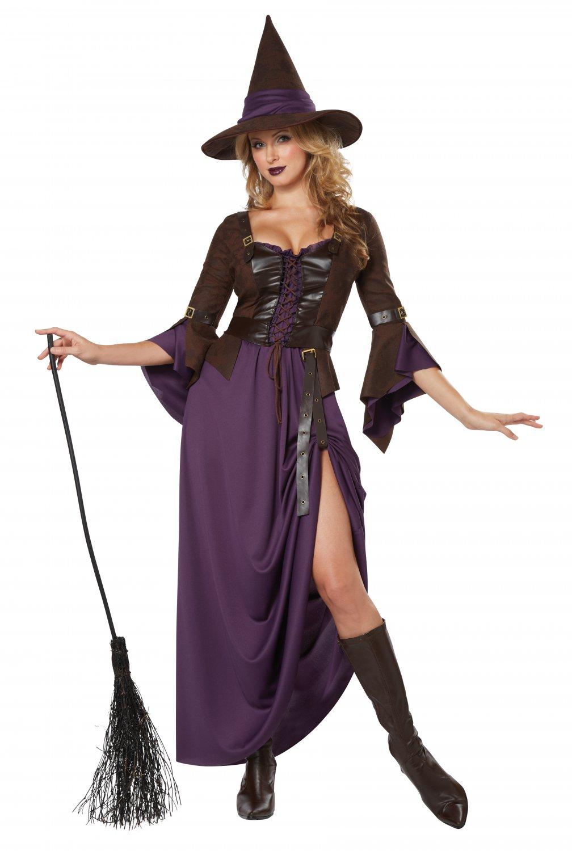 Renaissance Salem Witch Craft Adult Costume Size: Large #01337