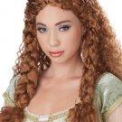 Viking Princess Medieval Time Adult Costume Wig - Brunette #70792