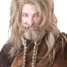 Games of Thrones Nordic Viking Wig, Beard & Moustache Adult Costume - Blonde #70774