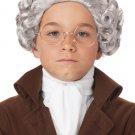 18th Century Peruke Colonial Child Costume Wig #70749