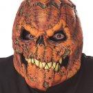 Standard Size: #60540 Headless Horseman Dark Harvest Pumpkin Ani-Motion Adult Costume Mask