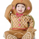 Size: Medium #10040  Santa Claus Christmas Gingerbread Man Infant Costume