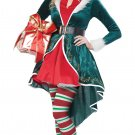 Sexy Christmas Elf Santa Claus Adult Costume Size: Large #01553