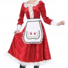 Christmas Classic Mrs Santa Claus Adult Costume Size: Medium #01556