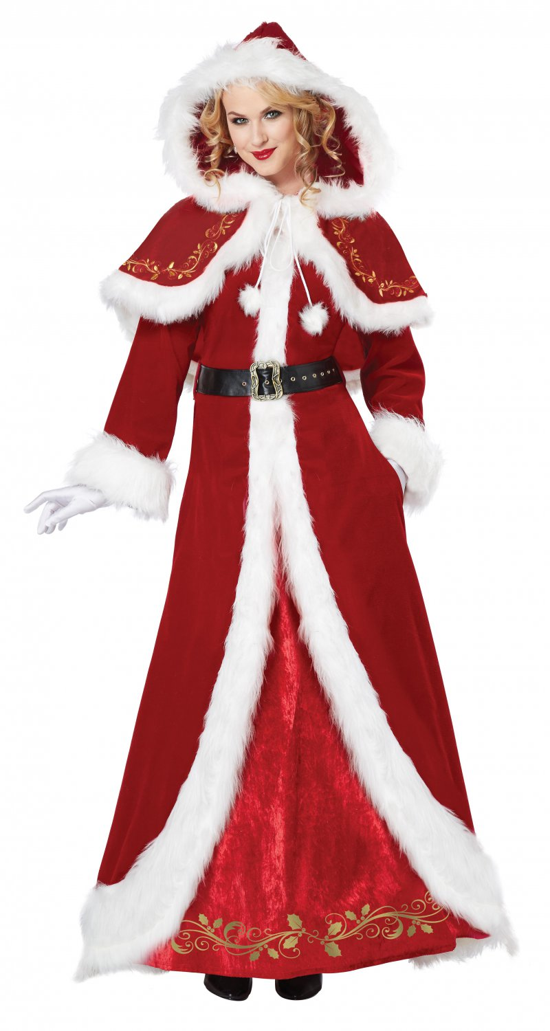 Sexy Mrs Santa Claus Deluxe Christmas Adult Costume Size: X-Large #01557