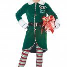 Size: Small/Medium #01555 Santa Claus Christmas Work Shop Elf Adult Costume