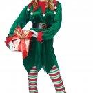 Size: Small/Medium #01554 Santa Claus Christmas Elf Uni- Sex Adult Costume