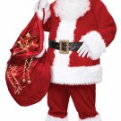 Christmas Santa Claus Deluxe Suit  Adult Costume Size: Small/Medium #01274