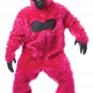 Gorilla King Kong  Monkey Adult Costume #01010_Pink
