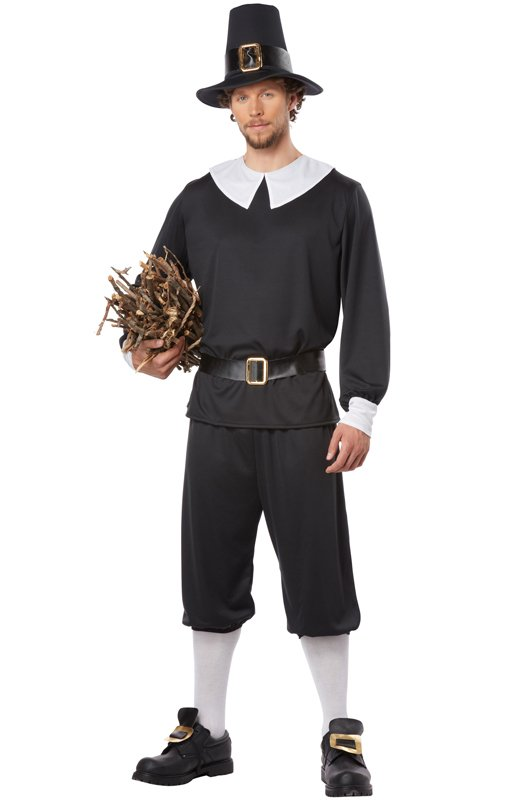 Size: Large #01312 Pilgrim Man Thanksgiving Colonial  Adult Costume
